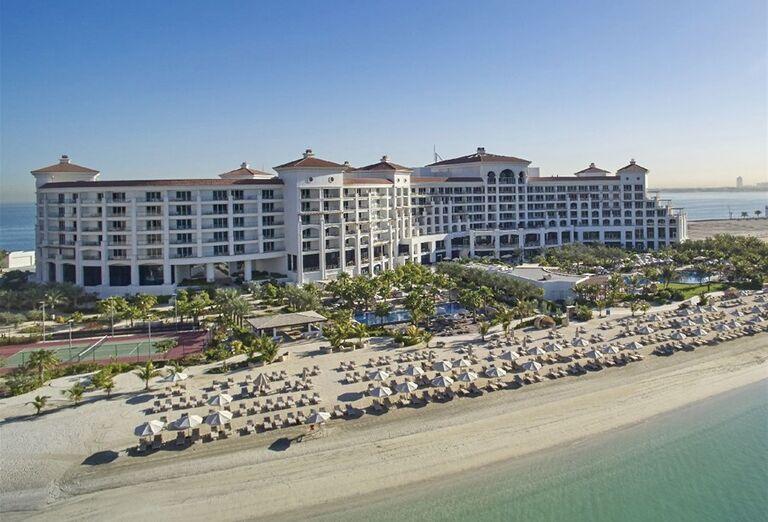 Pohľad na hotel Waldorf Astoria Dubai Palm Jumeirah