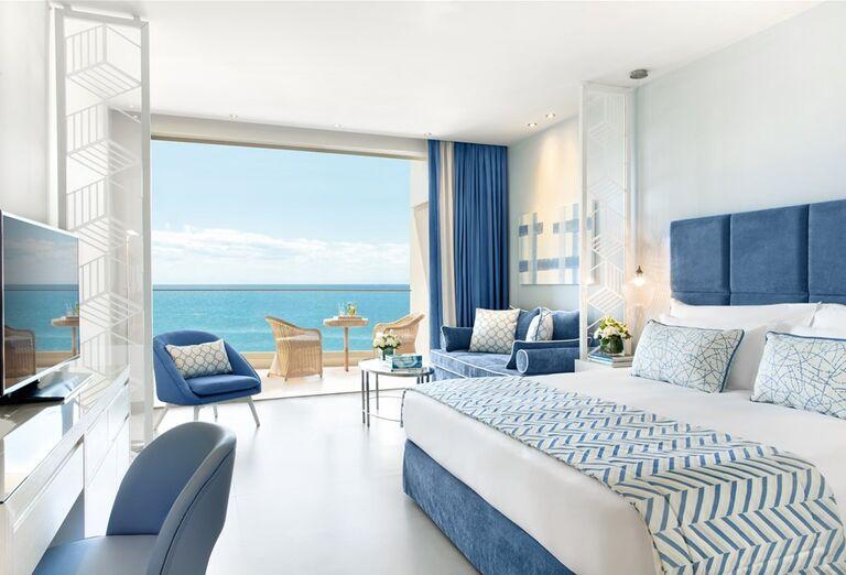 Izba s terasou v hoteli Ikos Oceania