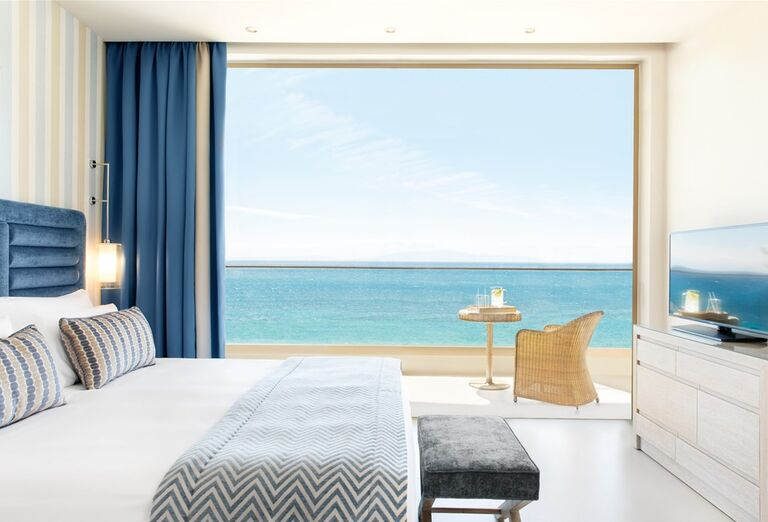 Ubytovanie s výhľadom na more v hoteli Ikos Oceania