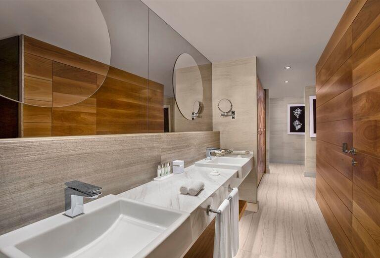 Kúpeľňa na izbe hotela Barut Acanthus & Cennet