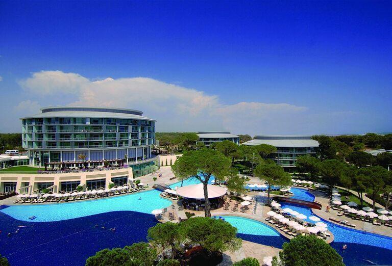 Areál hotela Calista Luxury Resort