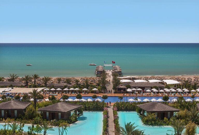 Cesta k pláži v hoteli Maxx Royal Belek