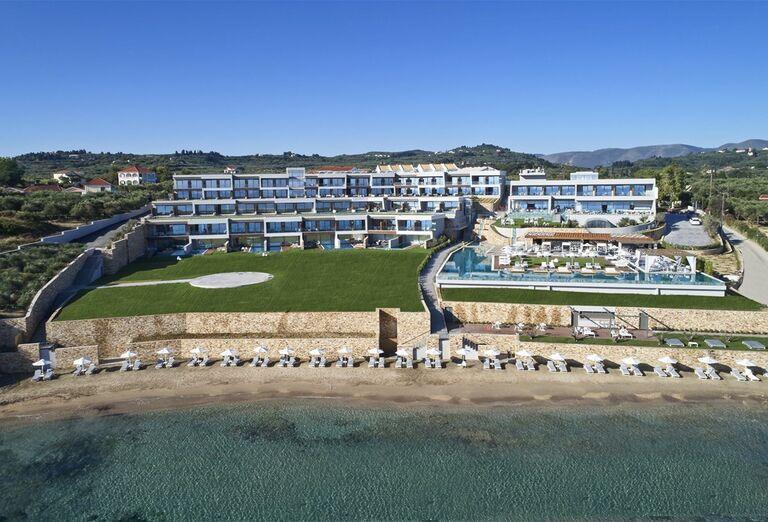 Panoráma hotela Lesante Blu Exclusive Beach Resort