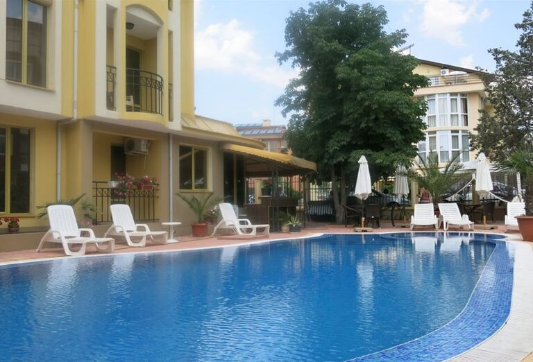 Bazén hotela Viena, Nesebar, Bulharsko