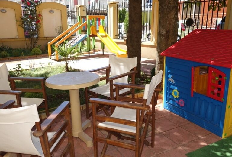 Detské ihrisko v hoteli Viena, Nesebar, Bulharsko