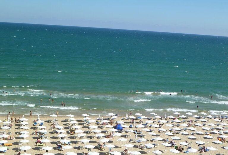 Pláž pri hoteli Karlovo, Slnečné pobrežie, Bulharsko