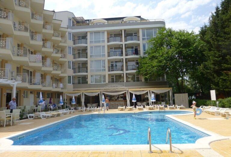 Areál hotela Karlovo, Slnečné Pobrežie, Bulharsko