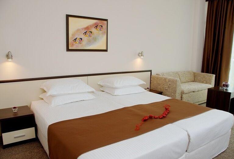 Bulharsko, Hotel Marvel, izba