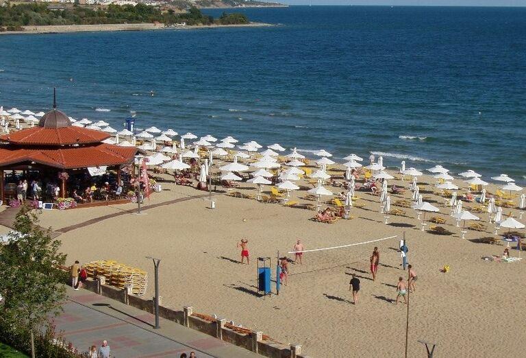 Bulharsko, Hotel Marvel, pláž