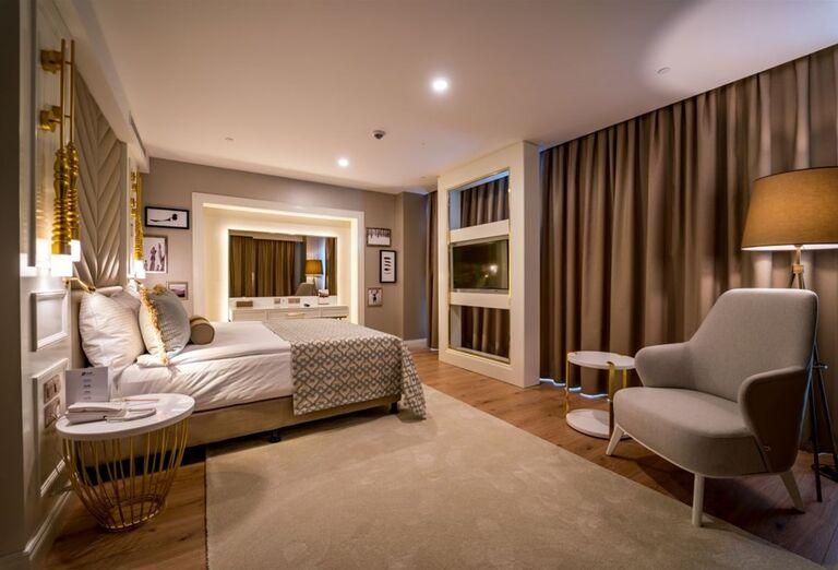 Izba v hoteli Limak Cyprus