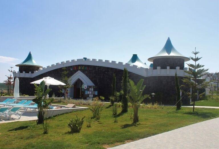 Vstup do miniklubu v hoteli Limak Cyprus