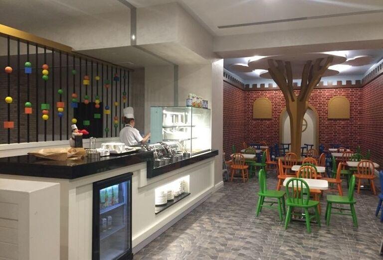 Detská reštaurácia v hoteli Limak Cyprus