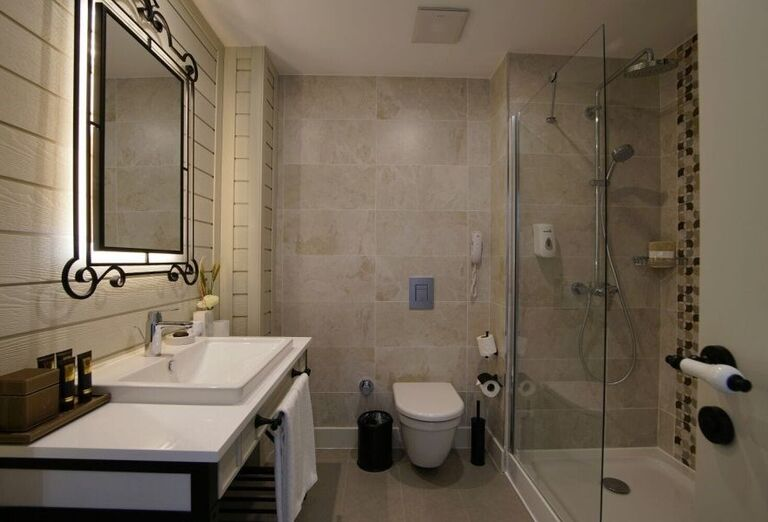 Kúpeľňa v hoteli Limak Cyprus