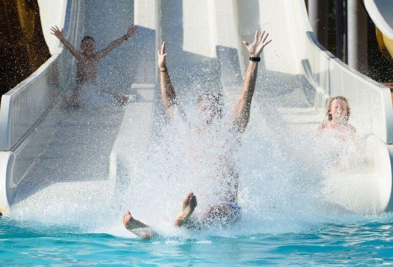 Aquapark v hoteli Kaya Artemis Resort