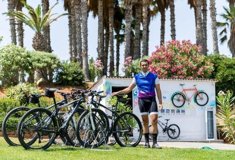 bicykle, hotel Lyttos Beach, Hersonissos