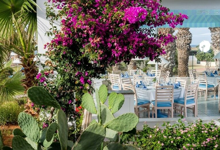 restauracia, hotel Lyttos Beach, Hersonissos