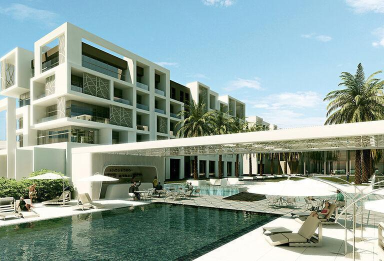 Kempinski Hotel Muscat -Areál hotela