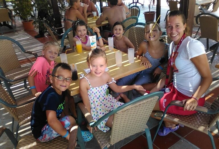 mini klub, hotel Lindos Princess, Lardos