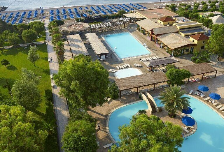 areal, hotel Esperides, Faliraki
