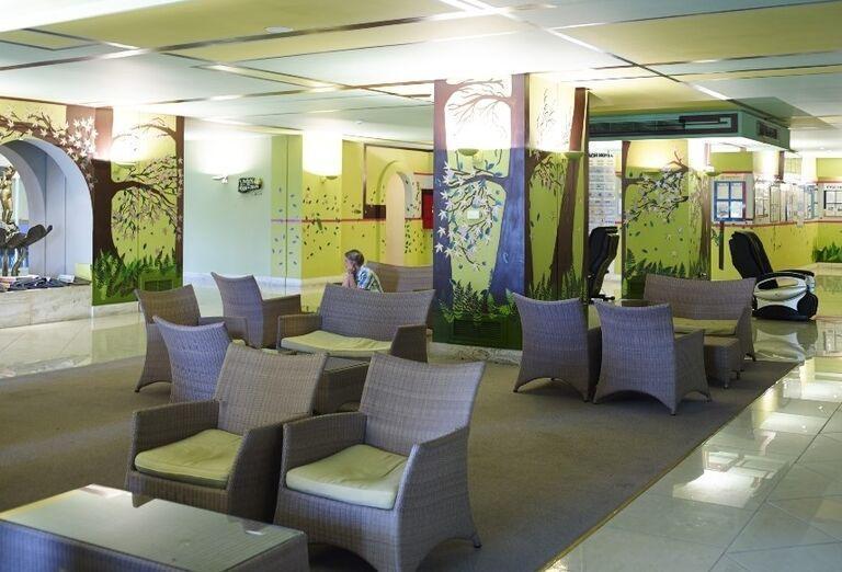 lobby, hotel Esperides, Faliraki