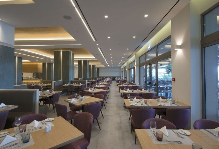 Reštaurácia v hoteli Amada Colossos resort