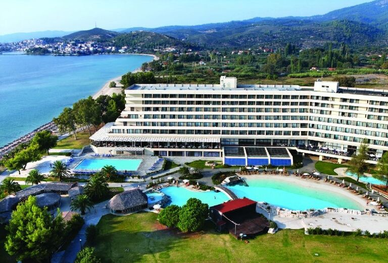 hotel Sithonia, Chalkidiki, Grecko