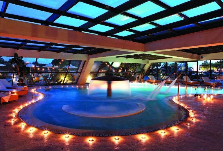 wellness v hoteli Sithonia, Chalkidiki, Grécko