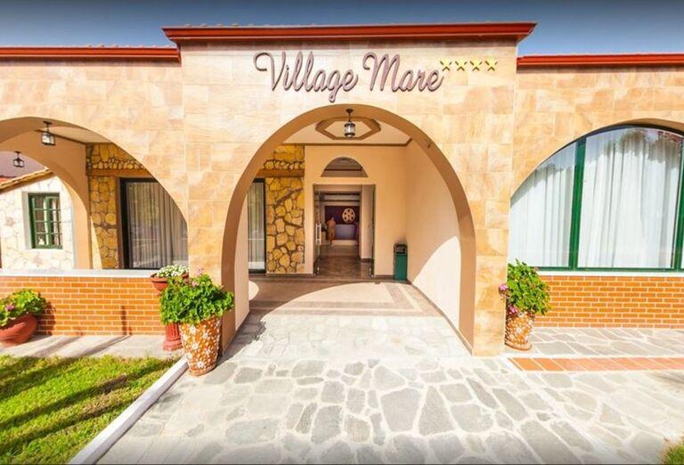 Vstup do hotela Village Mare