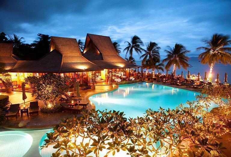 Bo Phut Resort & Spa -Areál hotela