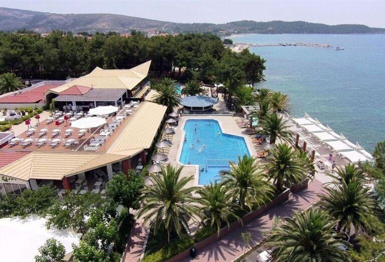 Areál hotela Alexandra Beach Thassos Spa Resort