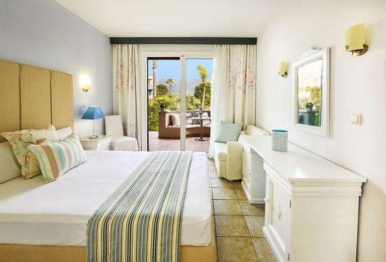 Thassos, Skala Prinos, hotel Ilio Mare, izba