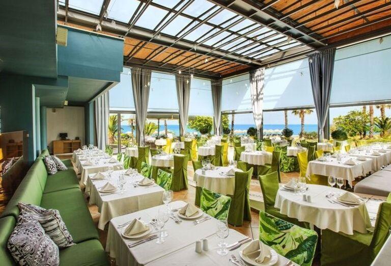 Thassos, Skala Prinos, hotel Ilio Mare, reštaurácia