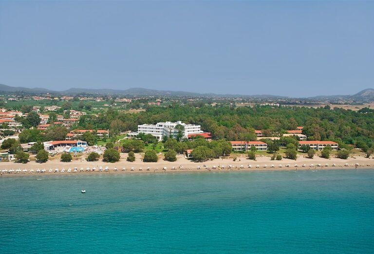 Pohľad na hotel Louis Zante Beach, Laganas, Zakyntos