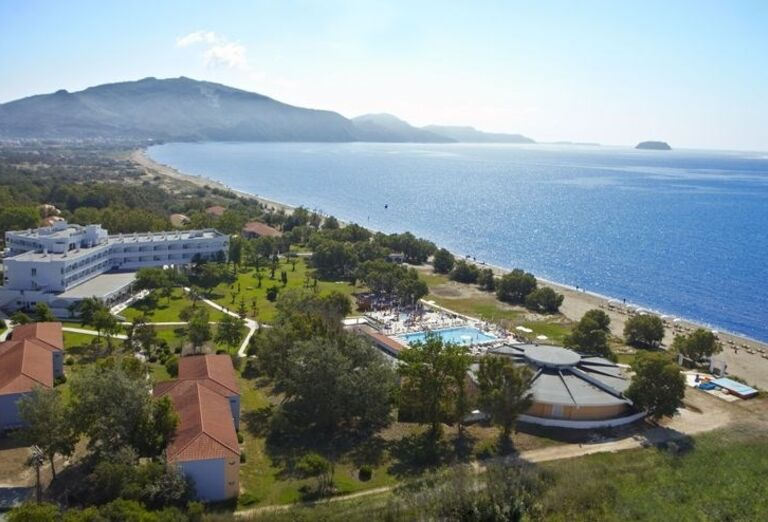 Areál hotela Louis Zante Beach, Laganas, Zakyntos