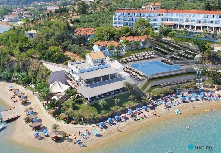 Hotel Sentido Alexandra Beach, vizualizácia nového bazéna