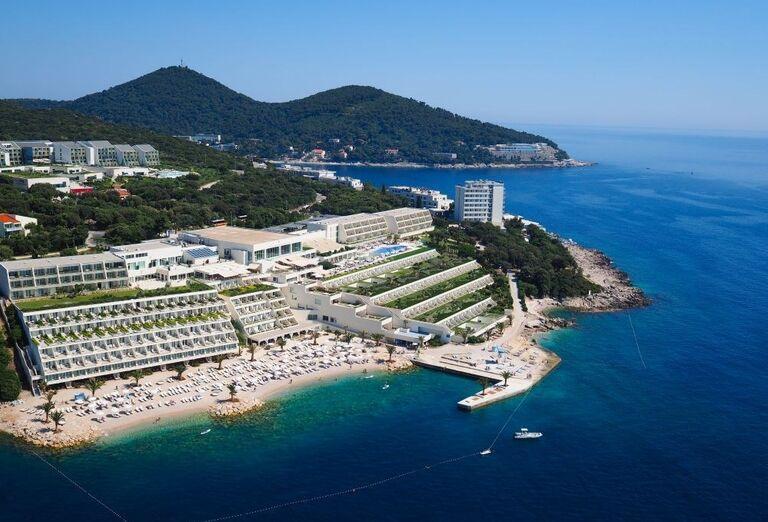 Panoráma hotela Valamar Dubrovnik President