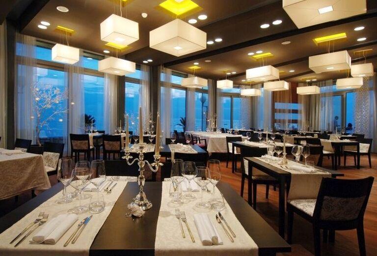 Reštaurácia v hoteli Melia Istrian Villas
