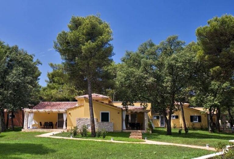 Vstupy do víl hotela Melia Istrian Villas