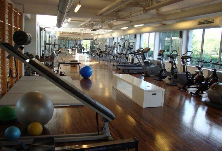 Fitness centrum v hoteli Aminess Maestral