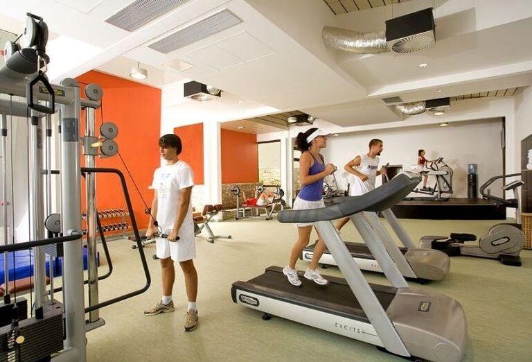 Fitness v hoteli Valamar Club Tamaris