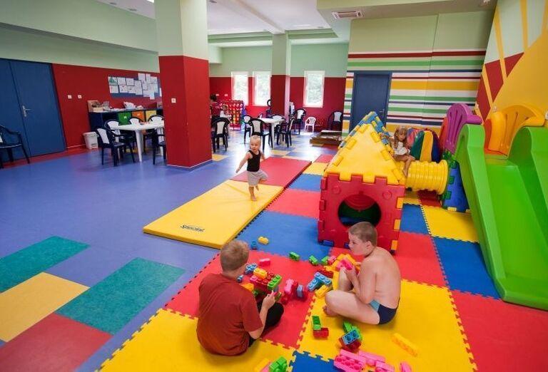 Detský miniklub v hoteli Laguna Materada