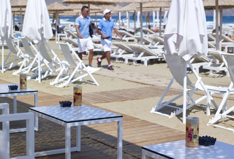 Pláž Hotel Anemos Luxury Grand Resort *****