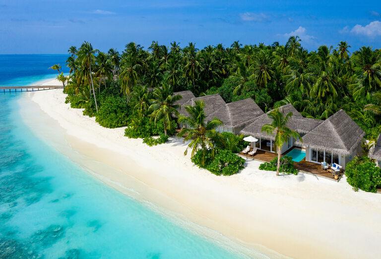 Pláž Hotel Baglioni Resort Maldives *****