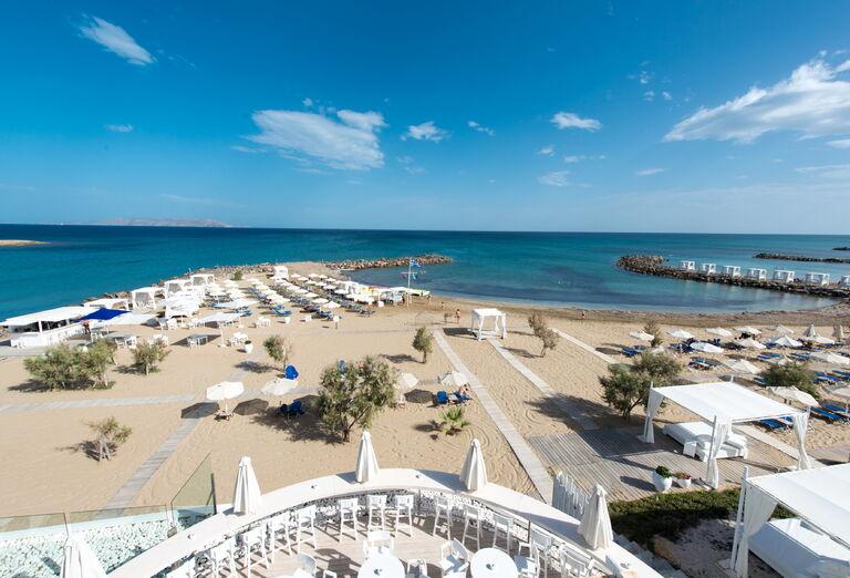 Pláž Hotel Knossos Beach Bungalow & Suites *****