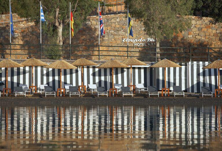 Pláž Hotel Elounda Blu ****+