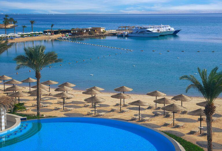 Pláž Hotel Jaz Casa Del Mar Beach *****