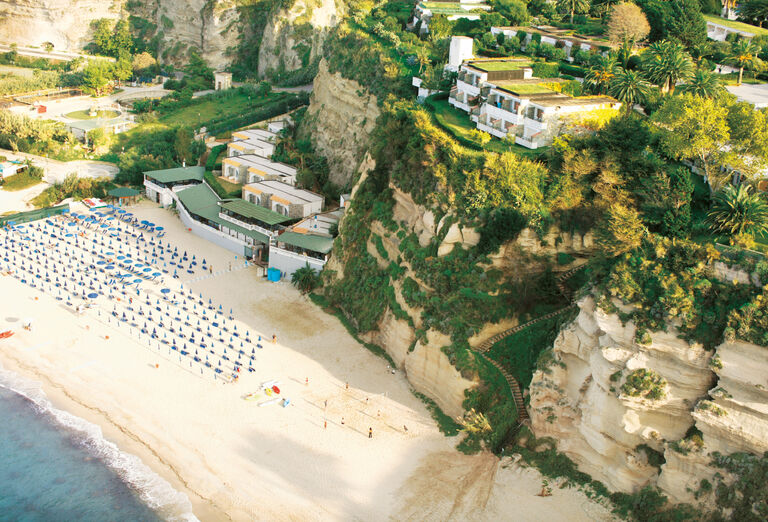 Pláž Hotel Labranda Rocca Nettuno Tropea *****