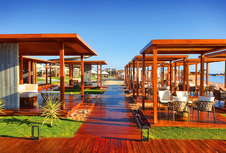 Pláž Hotel Rixos Premium Magawish *****