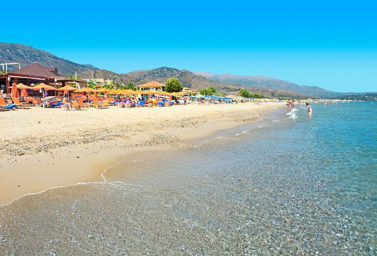 Pláž Hotel Eden Village Kournas ****