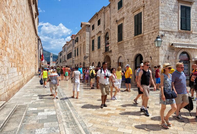 Ostatné Dubrovnik - múzeum pod holým nebom